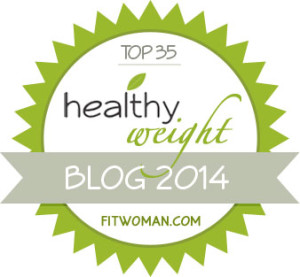 Healthy Weight Blog Award